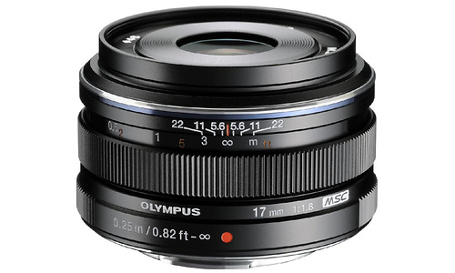 Olympus M.Zuiko Digital ED 17mm f/1.8 Black