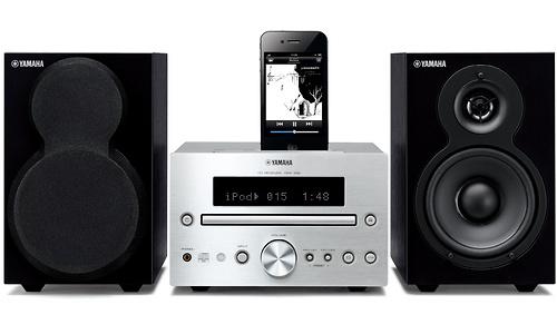 Yamaha MCR-232 Silver/Black