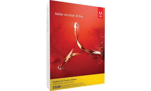Adobe Acrobat XI Pro 11 Education (FR)