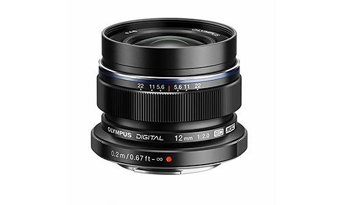 Olympus M.Zuiko Digital ED 12mm f/2.0 Black