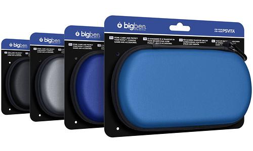 BigBen Hard case Blue for PlayStation Vita