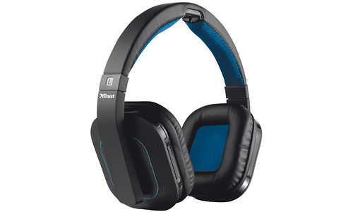 Trust Rezon Wireless Headphone Black