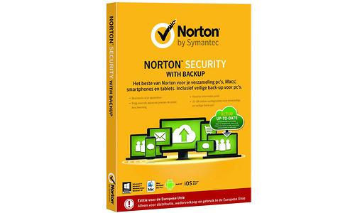 Symantec Norton Security with Backup 2.0 25GB (NL)