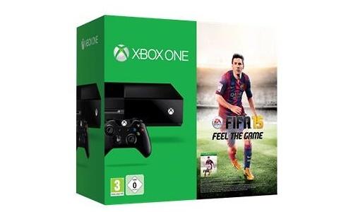 Microsoft Xbox 360 500GB + Fifa 15 Black