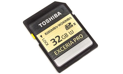 Toshiba Exceria Pro SDHC UHS-II U3 32GB
