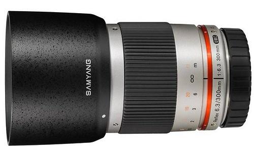 Samyang 300mm f/6.3 Reflex MFT Silver
