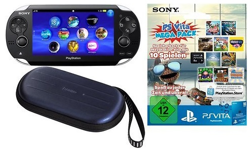 Sony PlayStation Vita + Mega Pack 1 WiFi