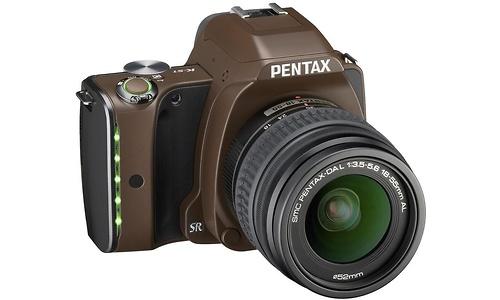 Pentax K-S1 18-55 kit Brown
