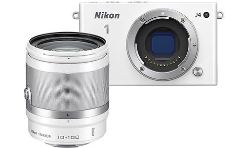 Nikon 1 J4 + 10-100 kit White