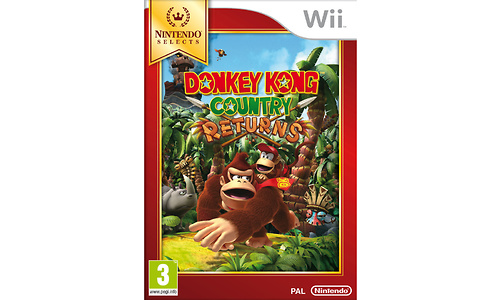 Donkey Kong Country Returns Select (Wii)