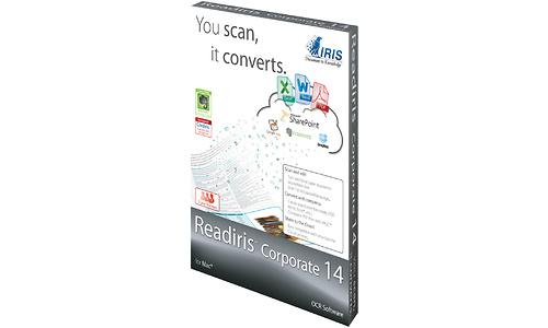 I.R.I.S. Readiris Corporate 14 3-user for Mac