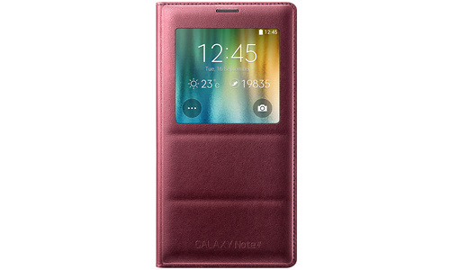 Samsung S-View Cover Red (Galaxy Note 4)