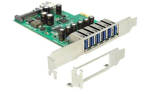 Delock 7-Port USB 3.0 + SATA