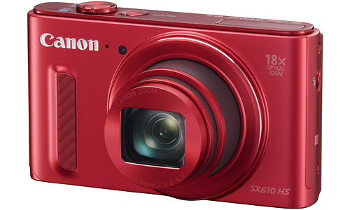 Canon PowerShot SX610 HS Red