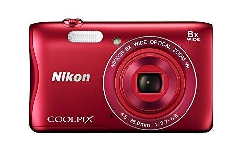 Nikon Coolpix S3700 WiFi HD Red