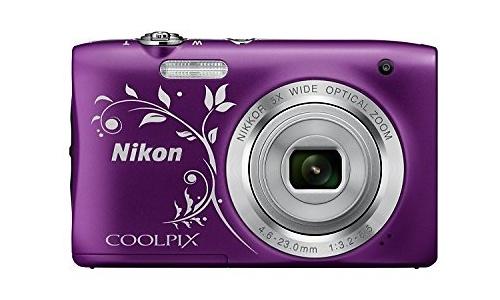 Nikon Coolpix S2900 HD Purple Ornament