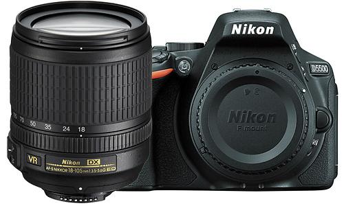 Nikon D5500 18-105 VR kit Black