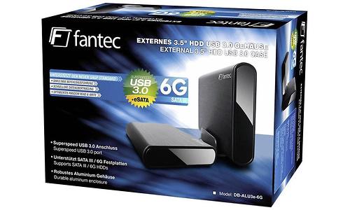 Fantec DB-ALU3e-6G 2TB Black