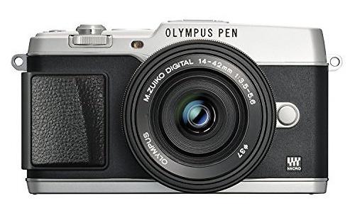 Olympus Pen E-P5 EZ-M1442EZ + CSS-S110 kit Silver