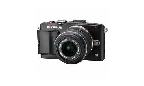 Olympus Pen E-PL6 EZ-M1442EZ kit Black
