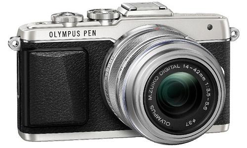 Olympus Pen E-PL7 14-42 II R Black/Silver