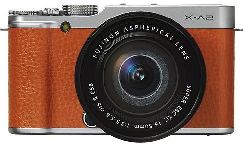 Fujifilm X-A2 XC 16-50 kit Brown
