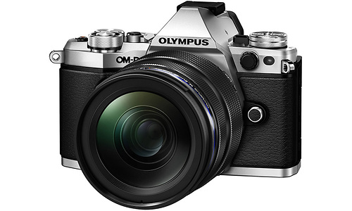 Olympus E-M5 Mark II 12-40 kit Silver