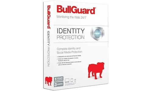BullGuard Identity Protection 3-user 1-year