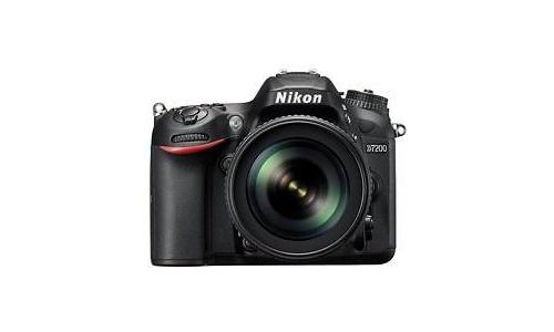 Nikon D7200 18-105 kit Black
