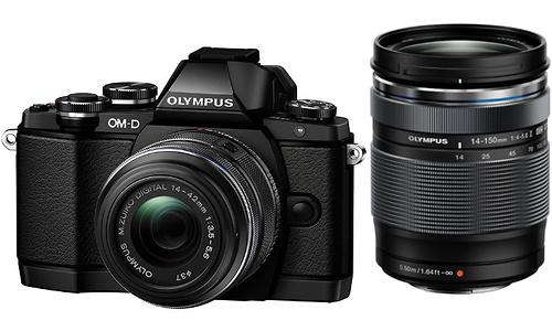 Olympus OM-D E-M10 14-42 + 40-150 kit Black/Silver