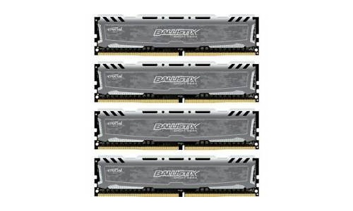 Crucial Ballistix Sport LT 16GB DDR4-2400 CL16 quad kit