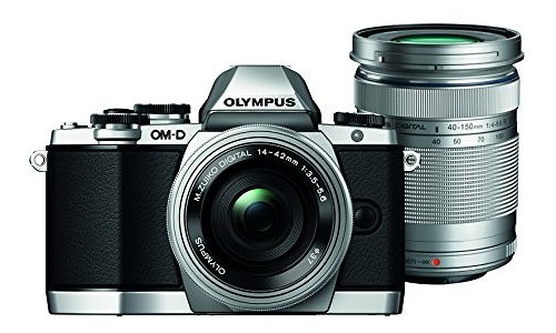 Olympus OM-D E-M10 14-42 + 40-150 kit Silver