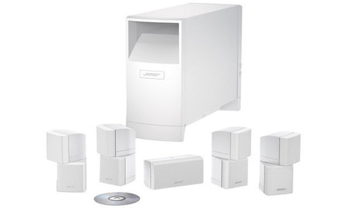 Bose Acoustimass 10 Serie IV 5.1 White