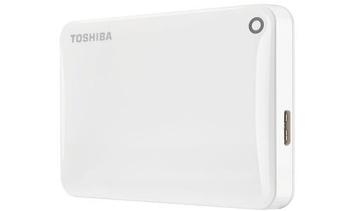 Toshiba Canvio Connect II 1TB White