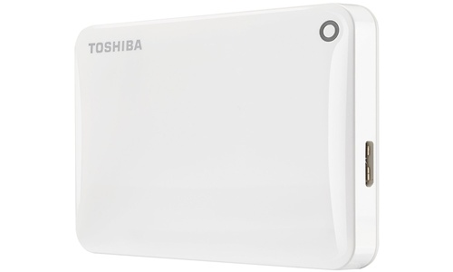 Toshiba Canvio Connect II 2TB White