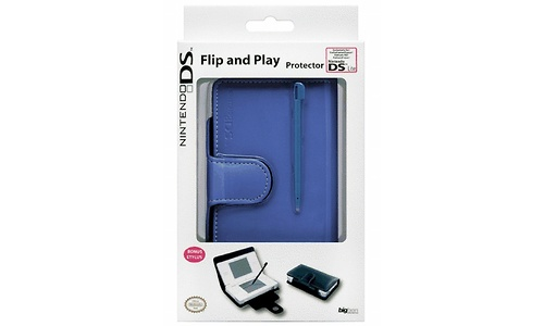 BigBen Flip & Play Protector for Nintendo DS Lite Ice Blue