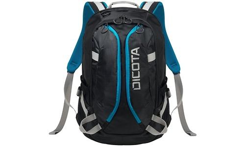"Dicota Backpack Active Black/Blue 15.6"""