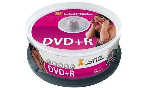 Xlyne DVD+R 16x 25pk Spindle