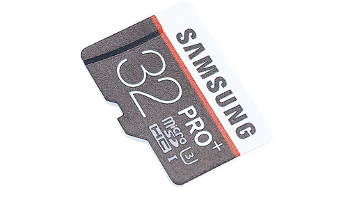 Samsung Pro+ MicroSDHC UHS-I U3 32GB + Adapter