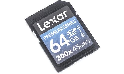 Lexar Premium SDXC UHS-I 300x 64GB