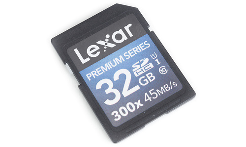 Lexar Premium SDHC UHS-I 300x 32GB