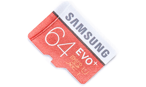 Samsung Evo+ MicroSDXC UHS-I 64GB + Adapter