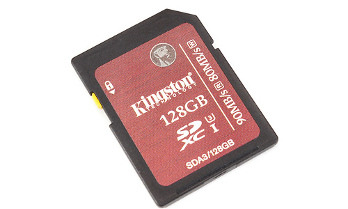 Kingston SDXC UHS-I U3 128GB