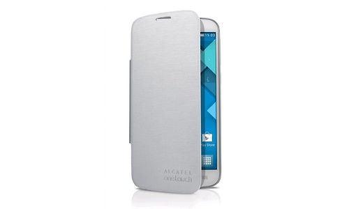 Alcatel OneTouch Flip Cover Silver