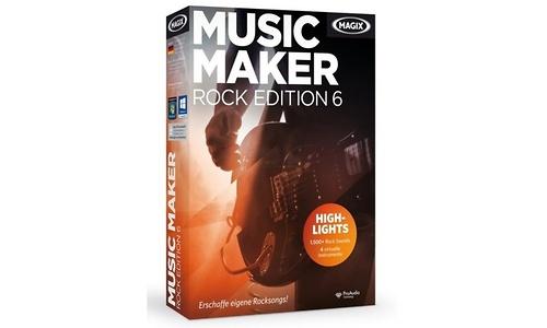 Magix Music Maker Rock Edition 6 (PC)