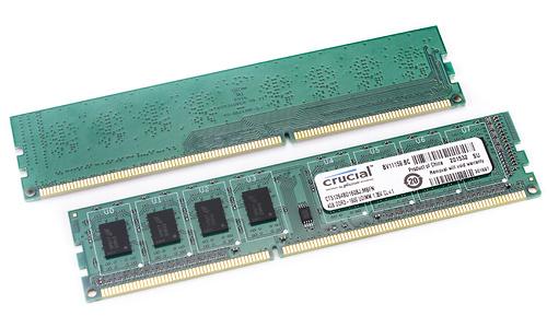 Crucial 8GB DDR3L-1600 CL11 kit