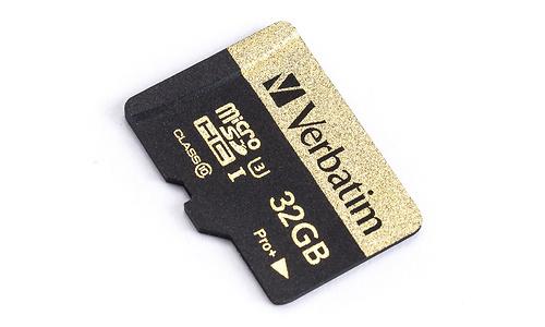 Verbatim MicroSDHC Pro+ UHS-I U3 32GB