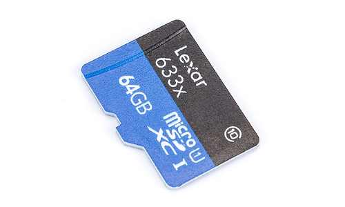 Lexar MicroSDXC UHS-I 633x 64GB + Adapter