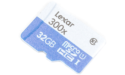 Lexar MicroSDHC Class 10 300x 32GB + Adapter