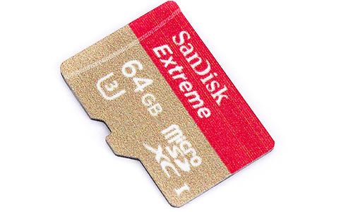 Sandisk MicroSDXC Extreme UHS-I U3 64GB